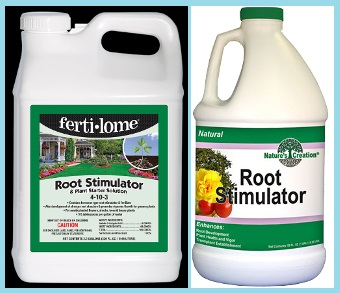 Fertilome and Nature's Creation Root Stimulator