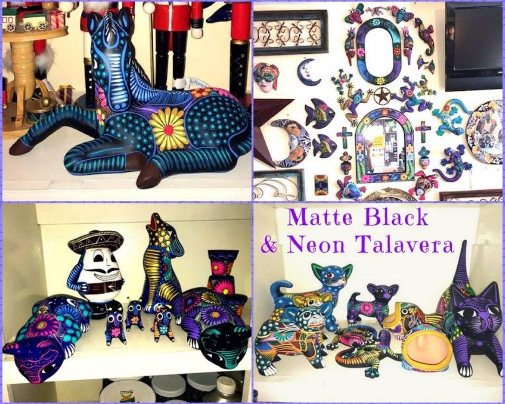 Matte and Neon Talavera