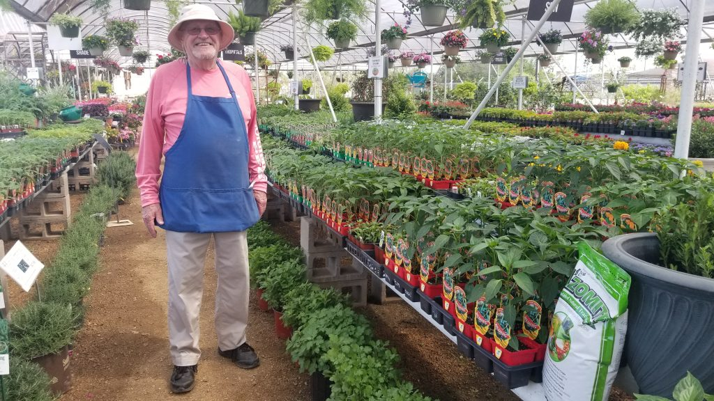 "Ron, our plant expert says, ""Vegetables: They're what's for dinner!"""