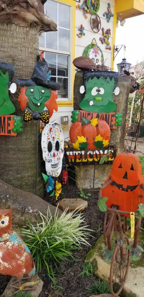 Halloween iron yard pieces!