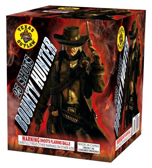 Bounty Hunter Texas Outlaw!