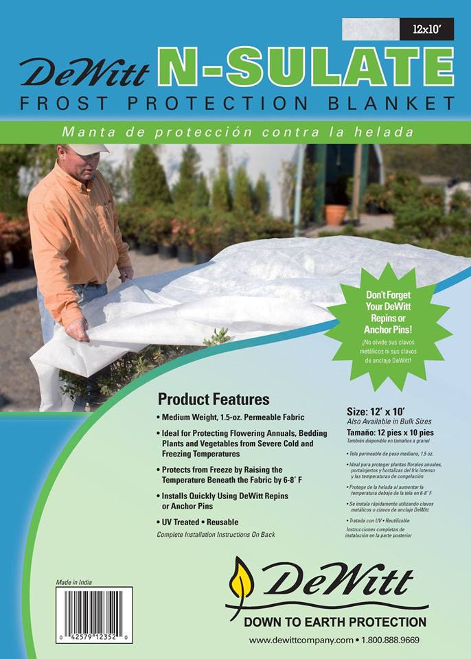 DeWitt N-Sulate Frost Protection Blanket