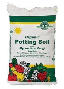 Nature's Creation Organic Potting Soil with Mycorrhizal Fungi!