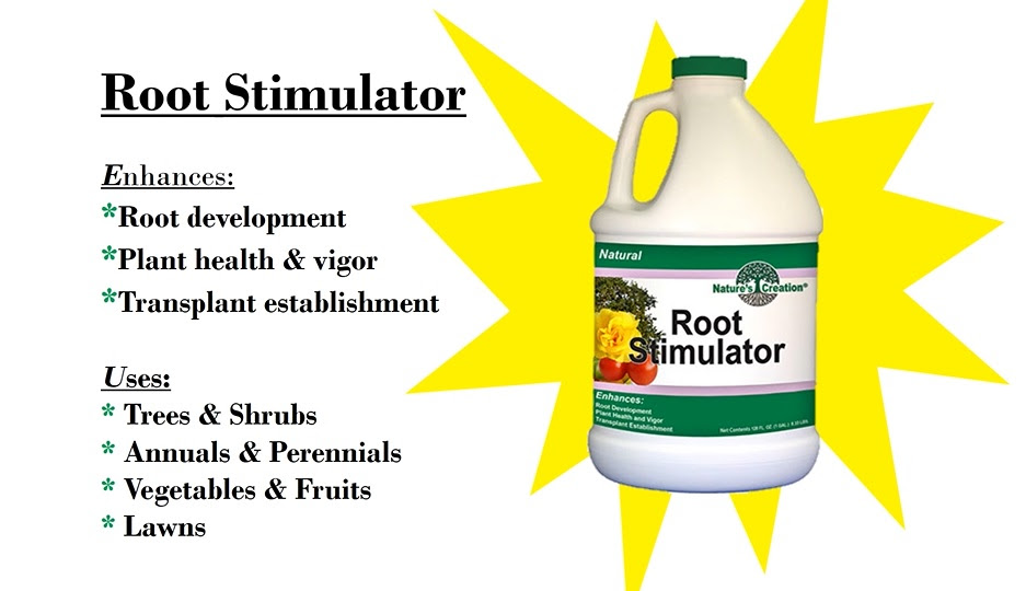 Root stimulator helps strengthen your plant's roots to be better established and helps avoid transplant shock.