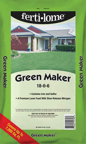 Green Maker 18-0-6 Fertilizer!