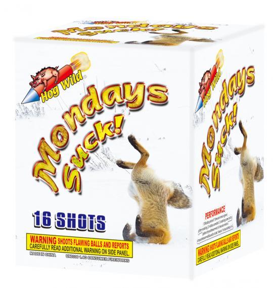 Mondays Suck! 16 shots!