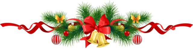 Transparent_Christmas_Pine_Garland_with_Gold_Bells_Clipart