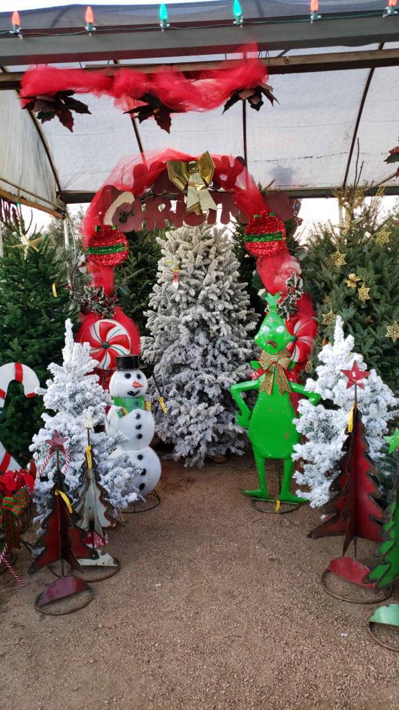 Christmas Tree Photo Stand!