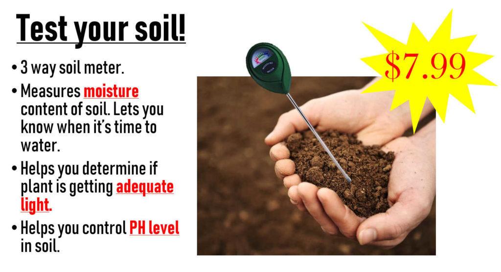 3 Way Soil Meter