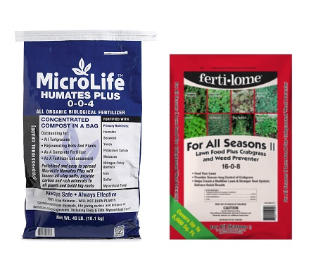 MicroLife Humates Plus All Organic Biological Soil Amendment and Ferti-Lome For All Seasons II.