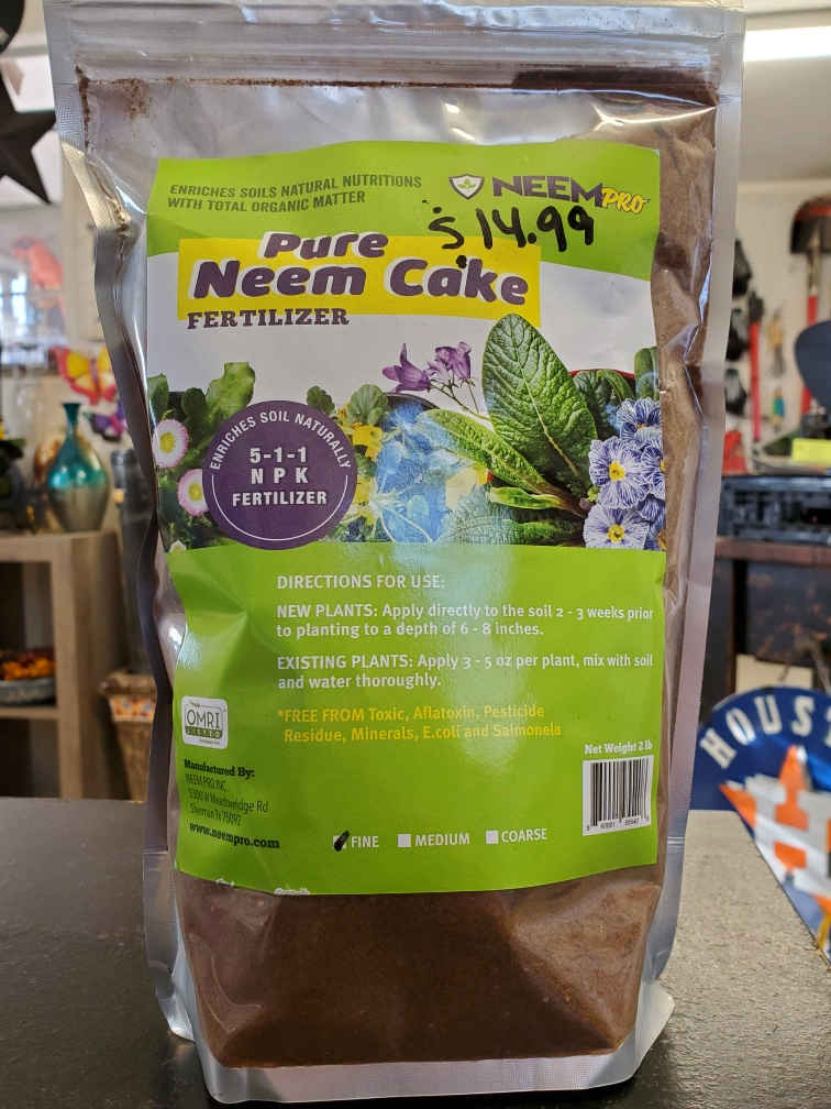 Neem Cake Fertilizer, 5-1-1