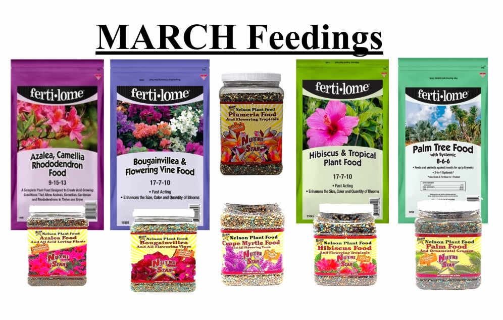 Wide selection of fertilizers for your plants!