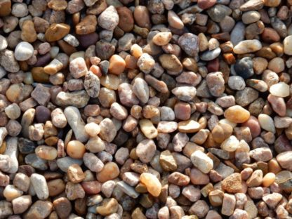 Rainbow rock. A gravel for pathways, drainage and as decorative rock. Also can be mixed with cement.