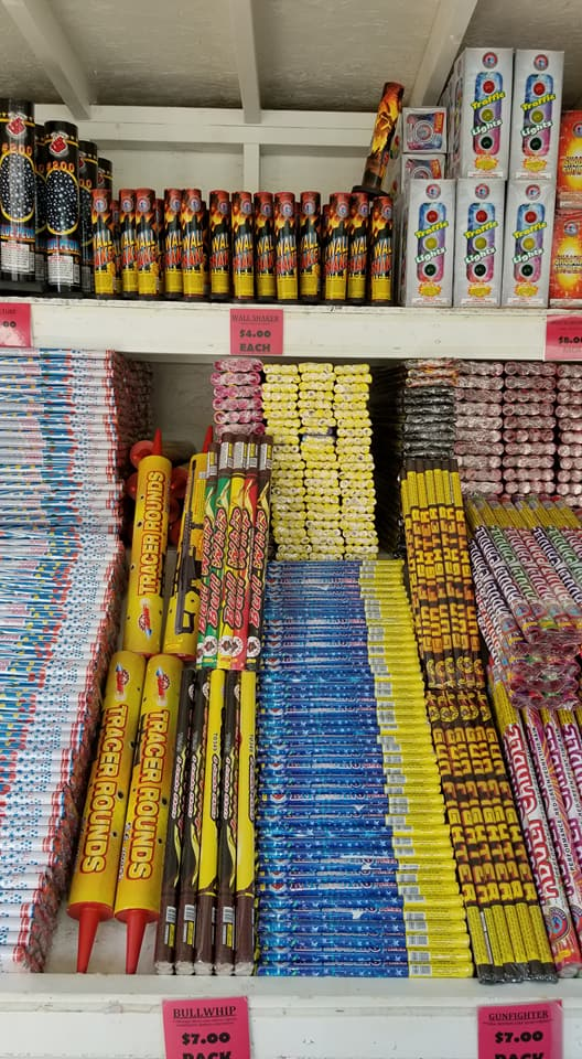 Roman Candles at J & J Nursery, Spring, TX