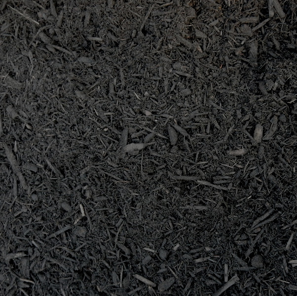 Black Mulch at J&J Nursery, Spring, TX